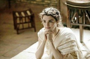 Hypatia in the movie Agora