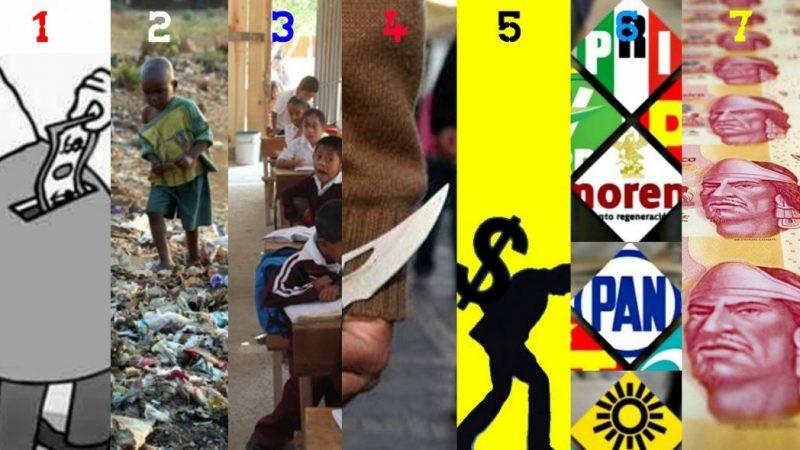 7 desafíos para México y no son por Trump