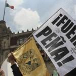 ¡Fuera Peña! sigue siendo la principal demanda ciudadana