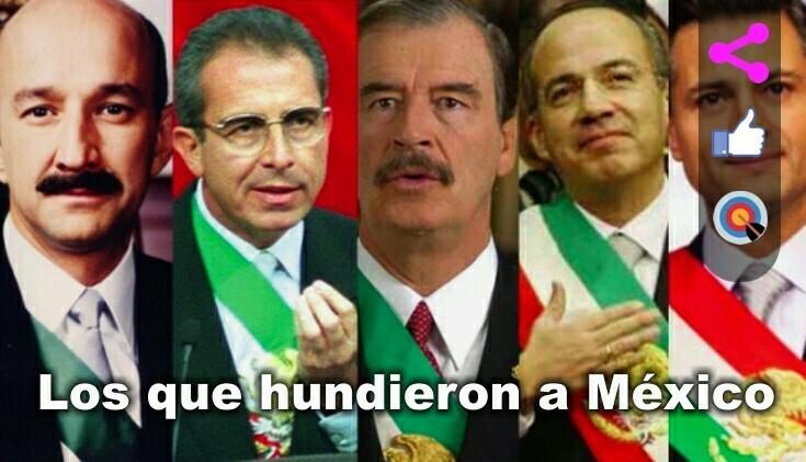 La política en México siempre ha sido una cadena de imposiciones y fraudes.