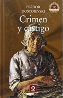 Portada de la novela Crimen y castigo de fiodor dostoyevski