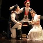 Teatro, el género dramático, es una representación del drama literario