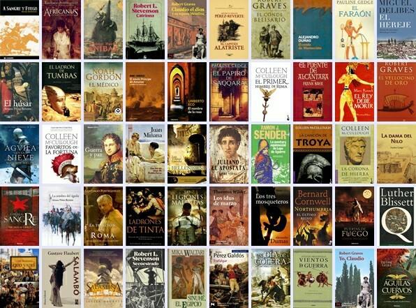 Lista de libros gratis para descargar (+50)