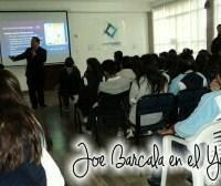 cursos y conferencias de joe barcala, en el instituto ypsilanti
