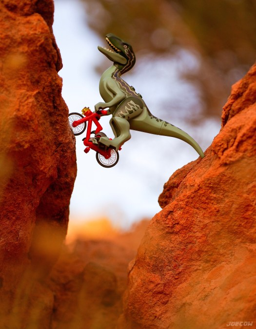 Lenny rides the Red Bull Rampage