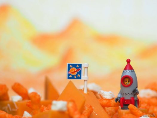 Limitless Cheetos and cheeses galore; Rocketboy has claimed the moon - what a score! ? ? ? .