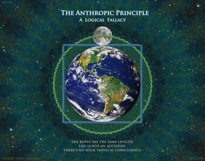 earth moon anthropic principle