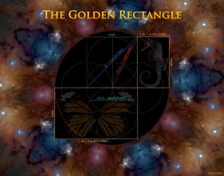 golden mean fibonacci sequence divine proportion rectangle