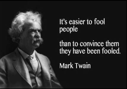 mark twain fool