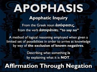 apophasis