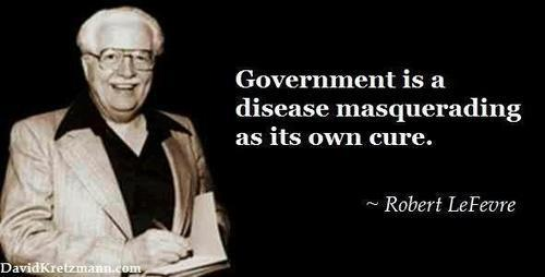 government is not the cure