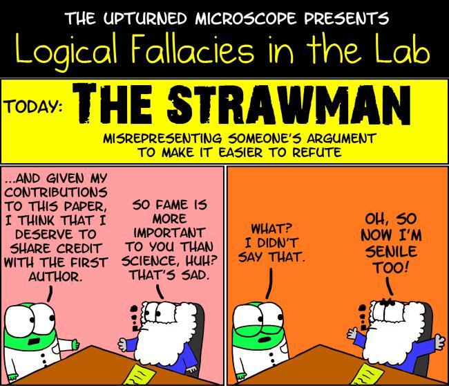 strawman fallacy