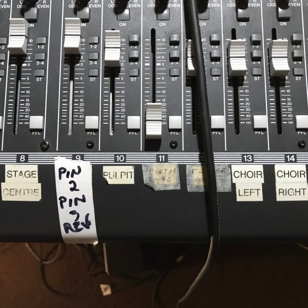 Church Sound System Is Saved – What Would JDRS Do?