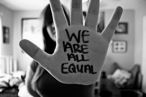 Image result for we are not the same but we are all equal