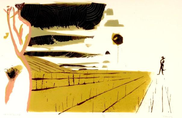 """Immortality, Monotype 15x21"""", 2011"""