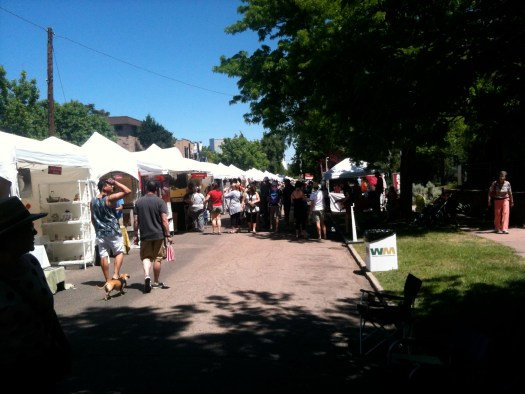 Summer Art Market, 2013