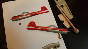 Aeroworks Imac Yak55 Practice Plane Assembly Covering And