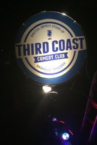 Our class was at Third Coast Comedy Club in Nashville, TN.
