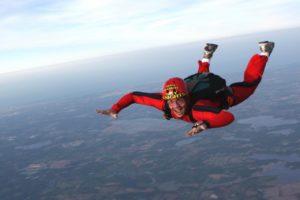 Improv is like skydiving.