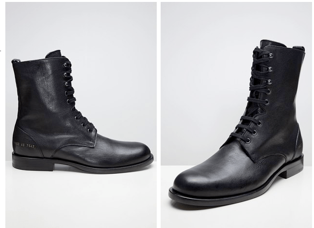 Common Projects Officers Boot