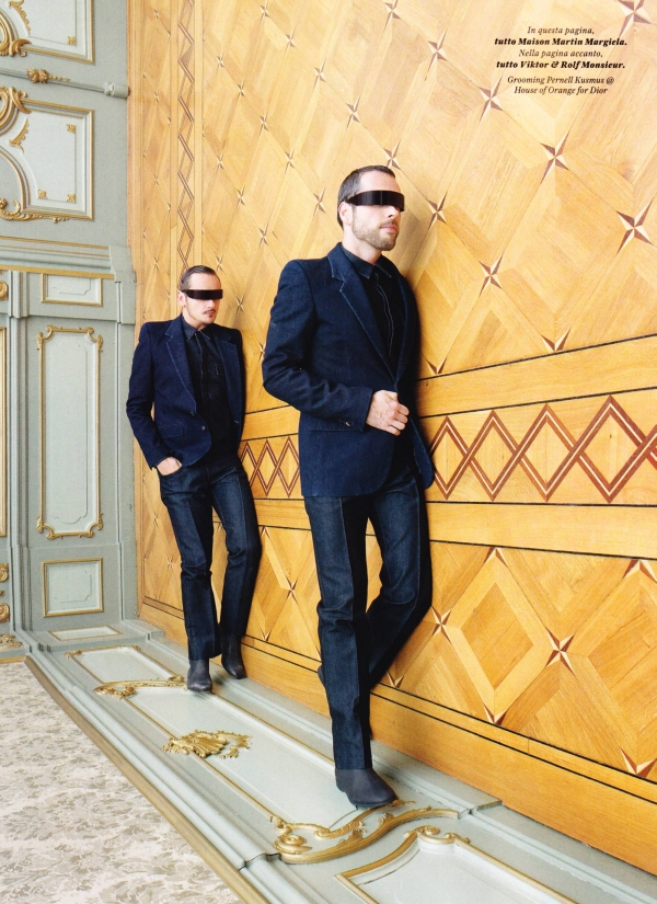 GQ Style Italy Viktor and Rolf3