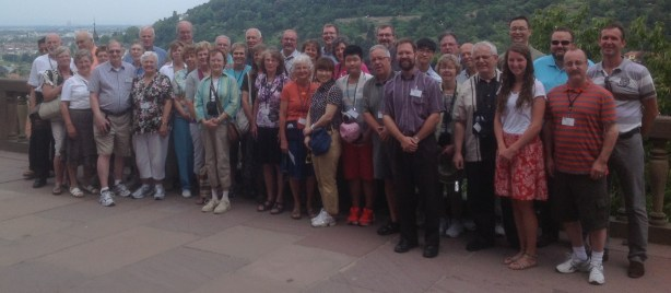 Tour Group in Heidelberg