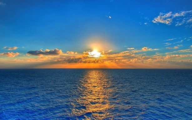 Sunset-over-Sea