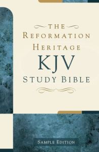 KJV Sample Edition Front Cover