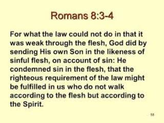 Romans 8-3-4