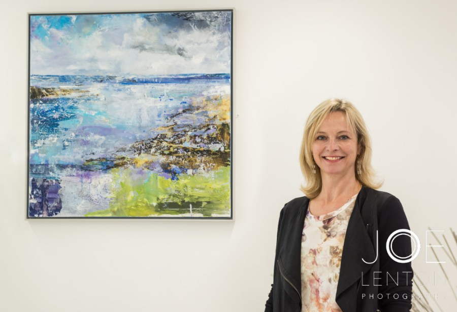 Artist Tracey Ross at Centrum-1