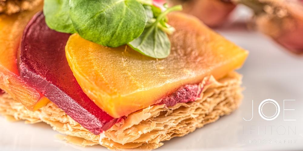 Food Photography - Starter & Dessert - Goldleaf Catering-6