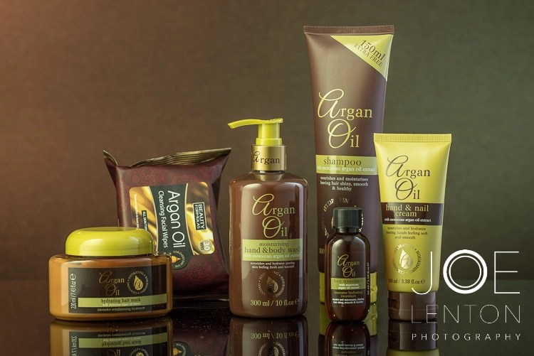 The Importance of Retouching for Product Photography - Argan Oil Products