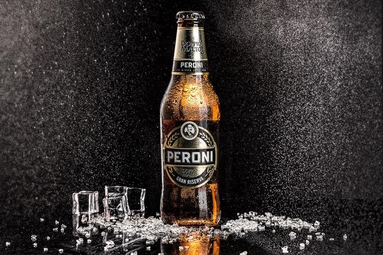 Beer Photography - Peroni Doppio Malto