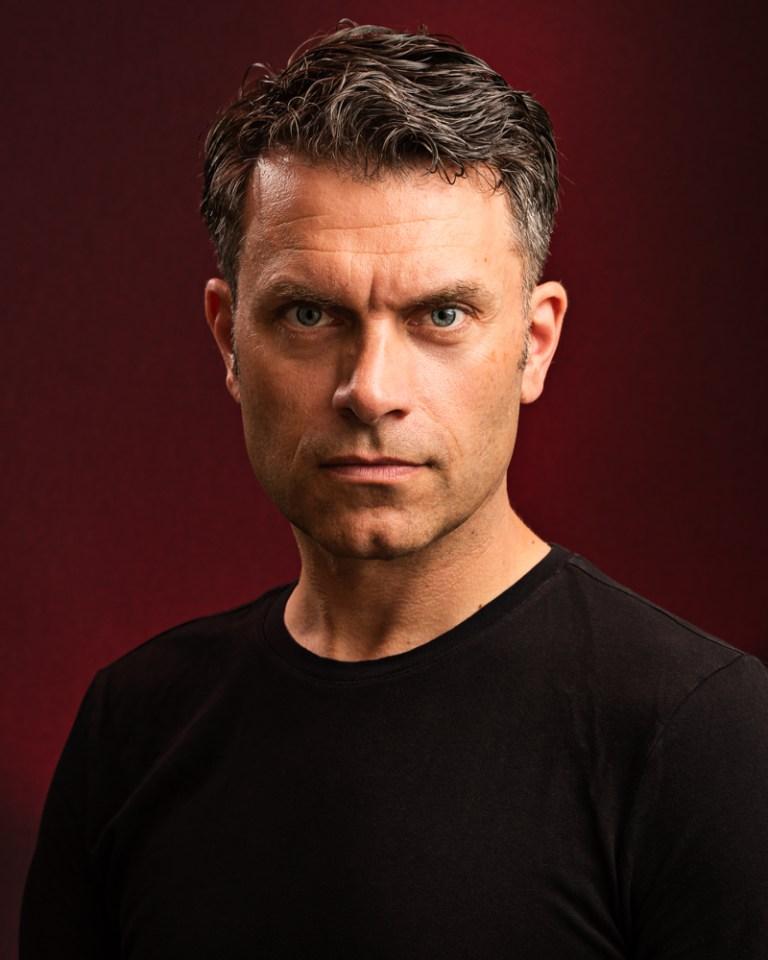 Sample image of Gavin - professional headshots for actors