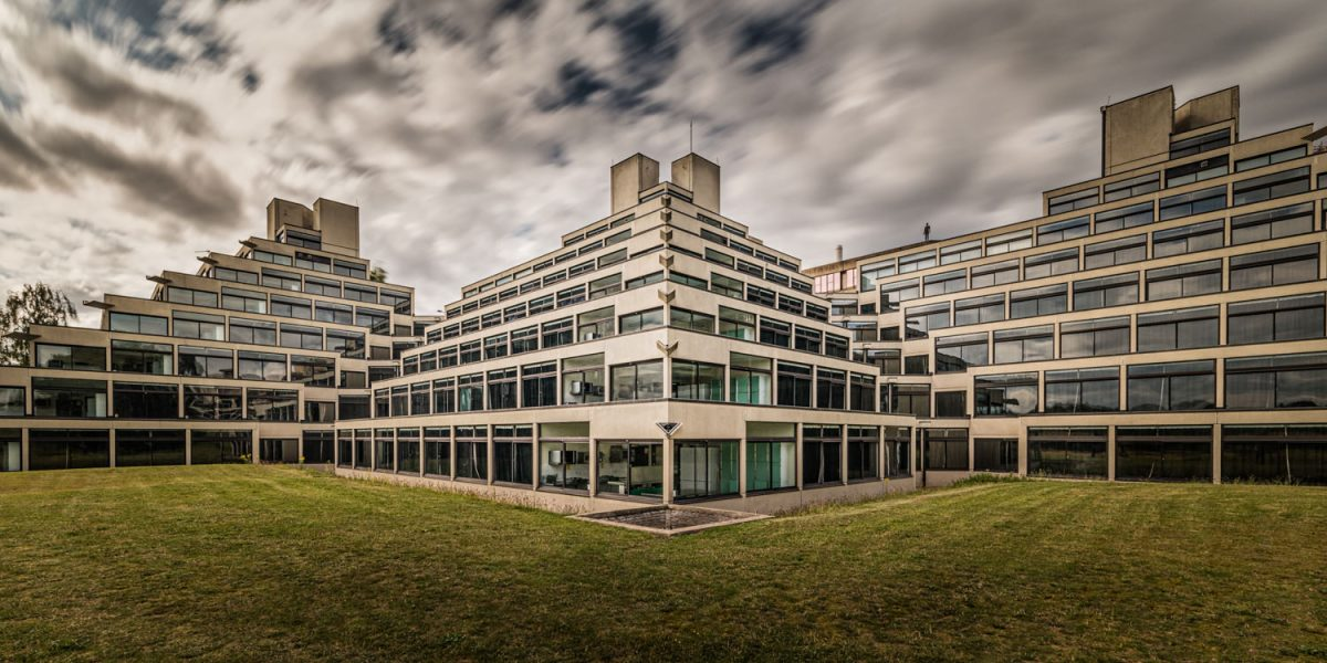 Norwich Architecture - UEA Ziggurat long exposure