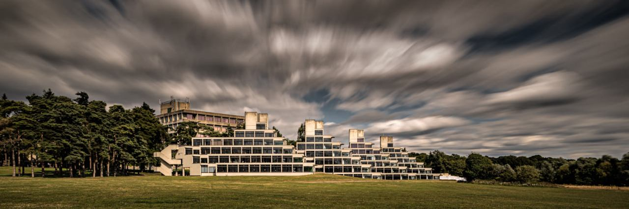 UEA student accommodation long exposure