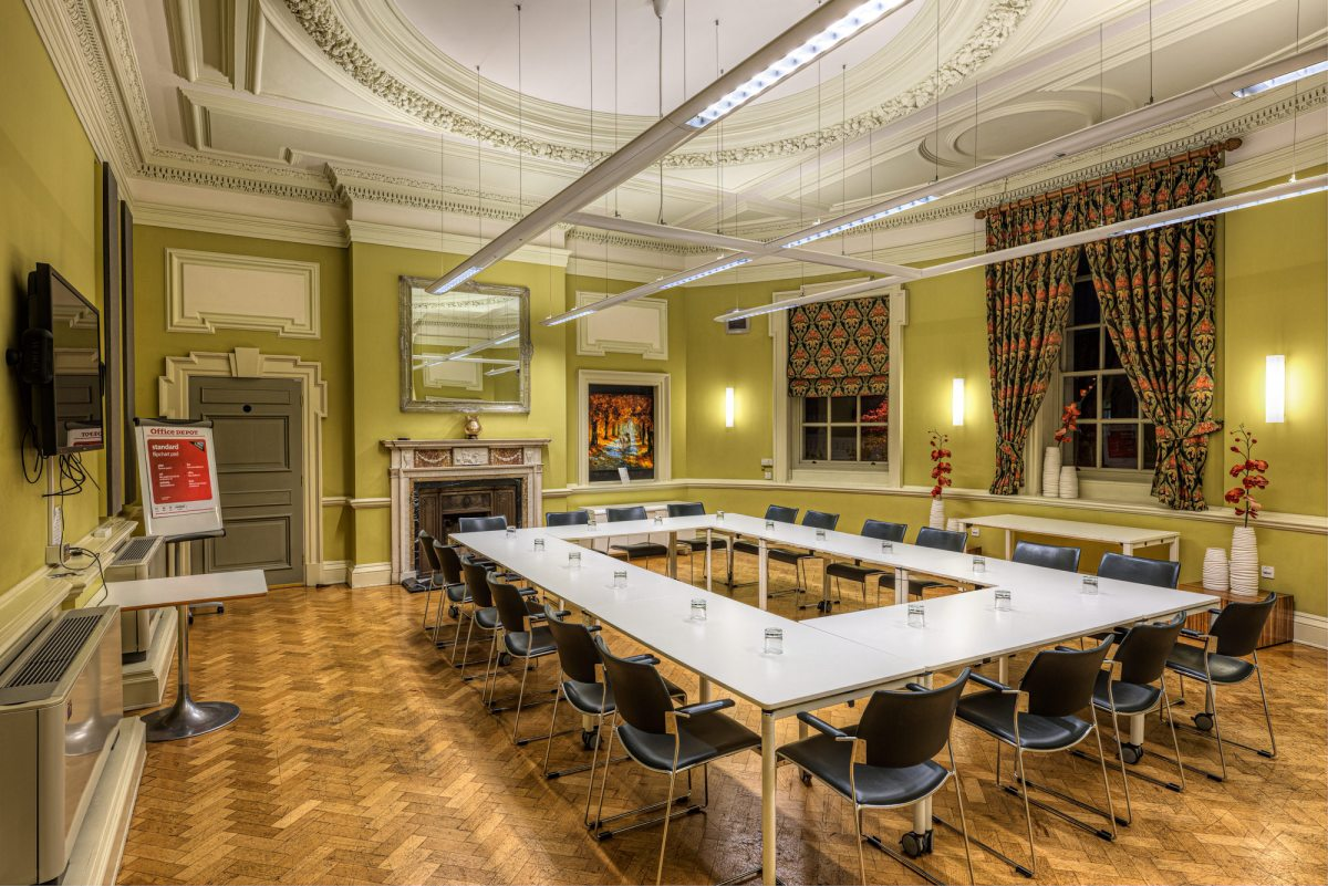 Commercial Architectural Photography Example Image of Large Meeting Room at OPEN