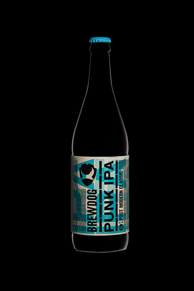 Brewdog Punk IPA - photo of bottle
