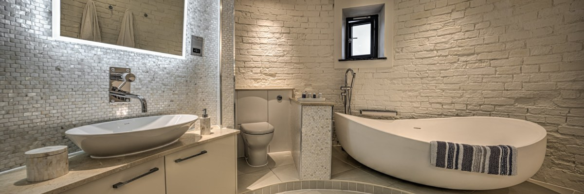 Bathroom Photography - Panoramic image of Windmill Suffolk bathroom