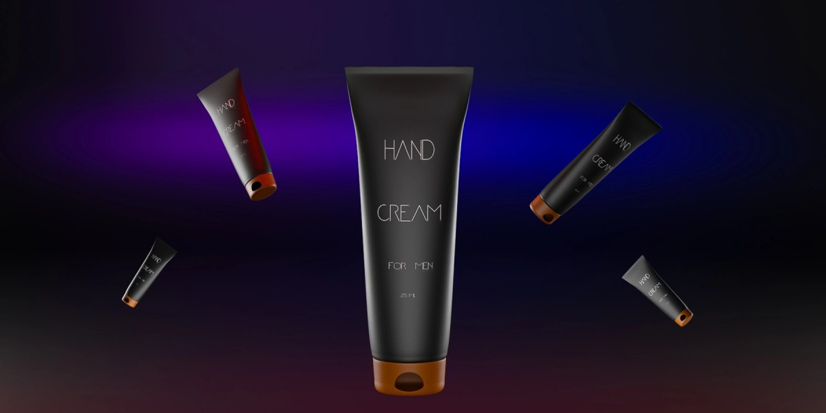 CGI Product Modelling of Hand Cream Tubes