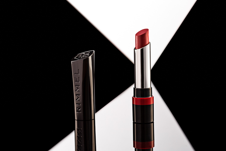 Rimmel Lipstick retouched product photo