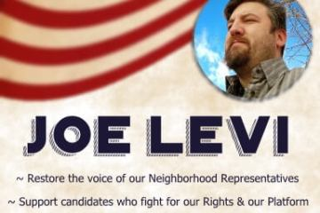 Vote for Joe Levi