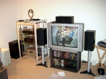 The old 2003 home theater setup