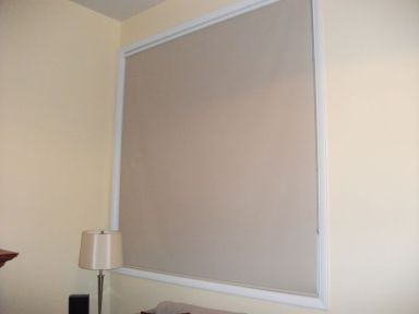 New interior paint and window shade