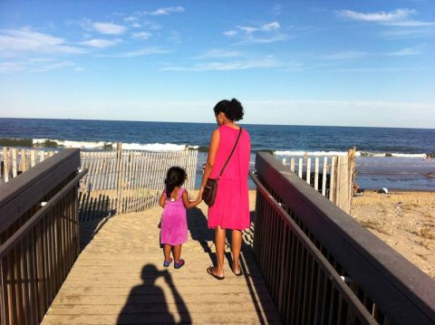 Checking out Bethany Beach