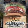 Burger Kings\' Indy Double Whopper
