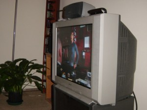 My Sony Wega CRT TV