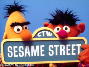 "Bert, left, and Ernie have been mainstays of ""Sesame Street"" since the beginning."