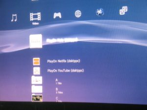 PlayOn Media Server on PS3