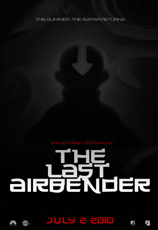 The Last Airbender teaser poster